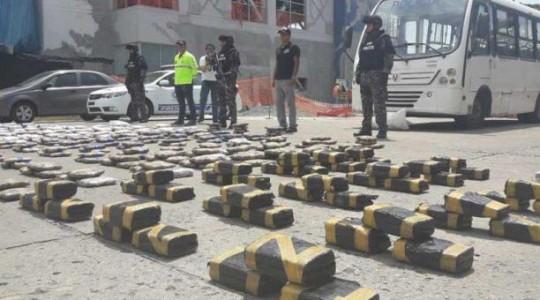 El 12 de abril, la Policía se incautó 45 kilos de droga. Foto: El Comercio