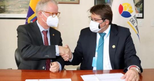 Alemania sigue apoyando el cuidado del medioambiente en Ecuador / Foto: Cortesía Ministerio de Ambiente