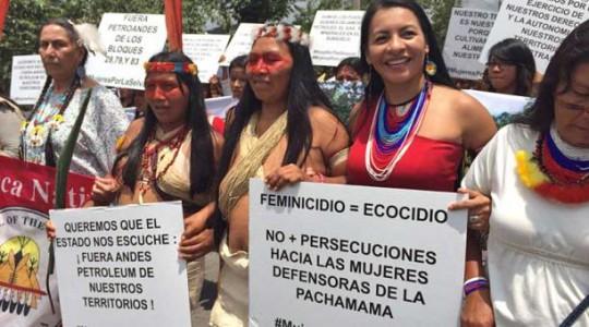 Mujeres amazónicas hablan sobre la defensa de la selva para celebrar ... 66e13f707cd