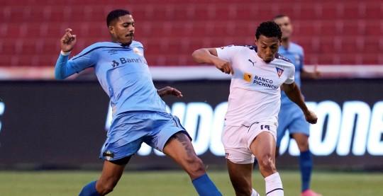 Liga cayó en el debut de su técnico Pablo Marini / Foto: EFE