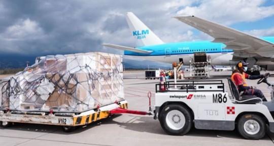 Un nuevo cargamento de ayuda médica española llegó al país / Foto: El Comercio