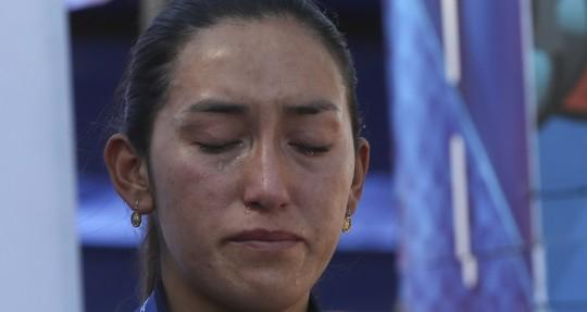 Miryam Núñez es la favorita en la Vuelta a Colombia / Foto: EFE