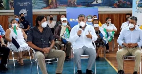 El gobierno prevé que Galápagos sea la primera provincia con vacunación total  / Foto: Cortesía Ministerio de Salud