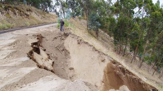 Pastaza sufre los estragos de las fuertes lluvias / Foto El Universo