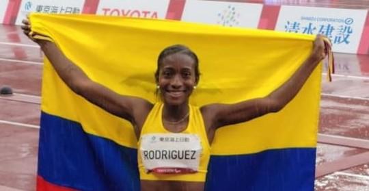 Kiara Rodríguez conquistó la tercera medalla de Ecuador en los Paralímpicos / Foto: EFE