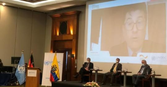 Ecuador y Colombia reciben cooperación alemana para combatir la delincuencia / Foto: Cortesía de la Cancillería Ecuatoriana