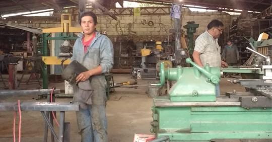 Eficiencia energética en el sector artesanal / Foto SECAP