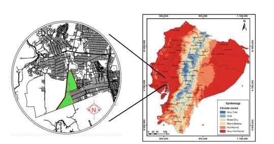 Estudio del confort térmico en viviendas sociales de Ecuador / IIGE