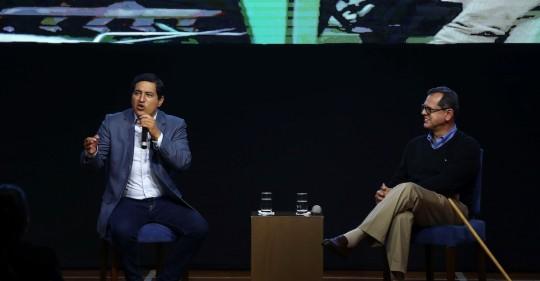Andrés Arauz se impone en las elecciones pero habrá segunda vuelta / Foto EFE