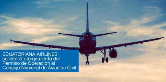 Ecuatoriana Airlines - Cortesía de la Dirección General Nacional de Aviación (DGAC)