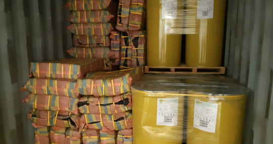 3 toneladas de cocaína en puré plátano de Ecuador fueron interceptadas en Róterdam / Foto: cortesía Openbaar Ministerie