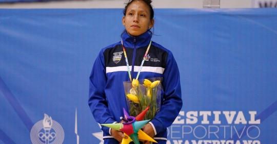Luisa Valverde se suma al equipo de lucha clasificado para Tokio/ Foto: EFE