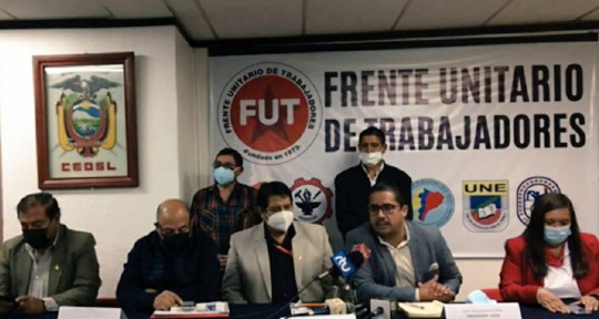 El Frente Unitario de Trabajadores convocan a marcha para el próximo 11 de agosto  / Foto: FUT
