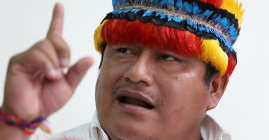 Indígenas advierten sobre proyecto de ley de consulta previa / Foto: EFE