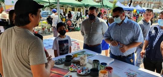 40 emprendedoras participaron en la 'Feria del encuentro' en Zamora / Foto: MIES