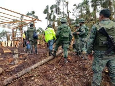 CONDICIÓN. En el país, 16 provincias son vulnerables a la minería ilegal. Foto: La Hora