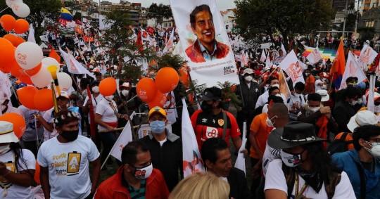 La campaña electoral marcada por la pandemia finalizó / Foto EFE