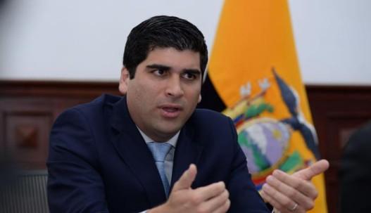 El vicepresidente Otto Sonnenholzner participó en el programa Hora 25 de Andrés Carrión.Karina Defas / EXPRESO