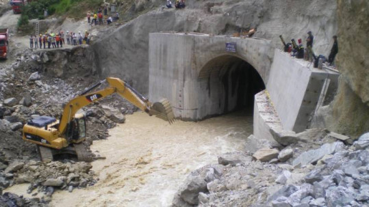Delsitanisagua está en Zamora Chinchipe y debía generar 1.411 gigawatios. Foto: Expreso