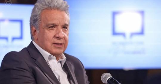 Moreno vincula motines a crimen organizado y narcotráfico / foto cortesía Presidencia de la República
