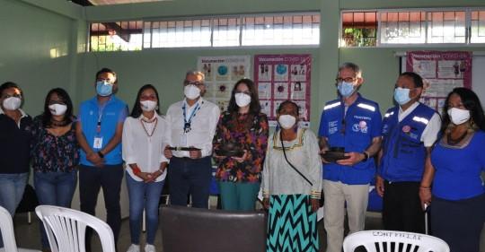El Hospital General Puyo recibió certificación / Foto: cortesía Ministerio de Salud