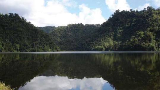 ÁREA. Río Negro-Sopladora se encuentra entre Azuay y Copal Morona Santiago. Foto: La Hora