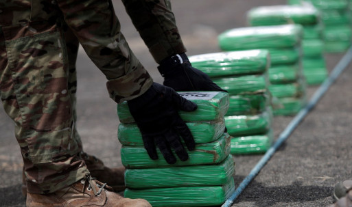 La Policía incautó 7,3 toneladas de clorhidrato de cocaína que iban a España / Foto EFE