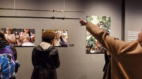 La muestra fotográfica. A la exposición de 45 fotos llegaron más de 3 mil personas. Foto: Expreso