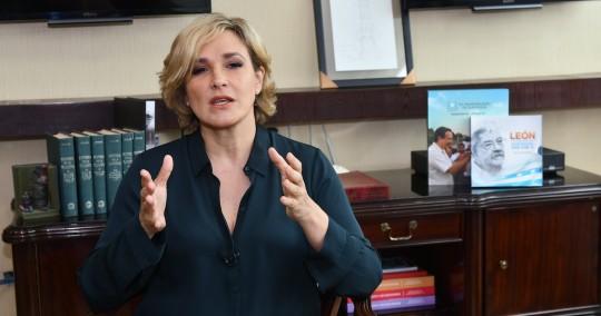 Cynthia Viteri solicita medidas cautelares contra el Ministerio de Salud y Pfizer / Foto EFE