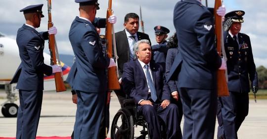 Lenín Moreno dice que posesión de Joe Biden es triunfo de la democracia / Foto: EFE