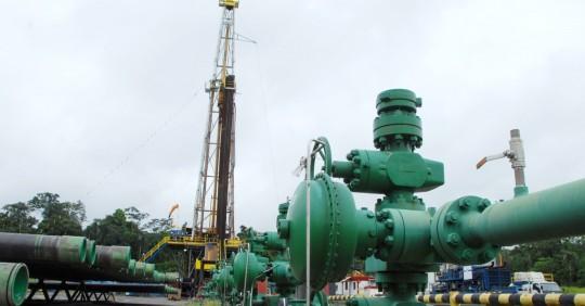 Pozo en el Campo Auca, aportará con más de 1.500 barriles de petróleo por día / Foto: EP Petroecuador