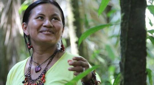 Yumbo es la administradora del Napo Cultural Center. Foto: El Comercio