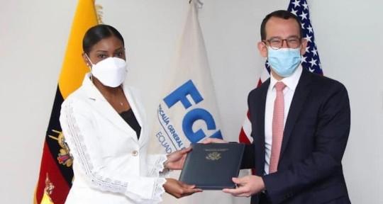 Estados Unidos apoya a Ecuador de diversas maneras en la lucha contra el crimen organizado / Foto: Fiscalía General