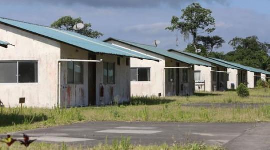 Las fachadas de las viviendas dan cuenta del desgaste por la falta de mantenimiento. Foto: El Comercio