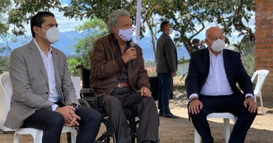 Mauricio Pozo reemplaza a Richard Martínez en el Ministerio de Economía / Cortesía de la Presidencia