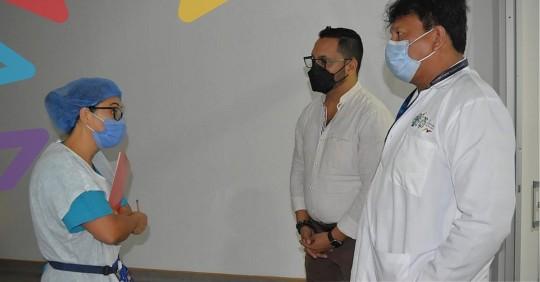 Seis neonatos mueren en hospital de Lago Agrio / Foto: cortesía Gobernación de Sucumbíos