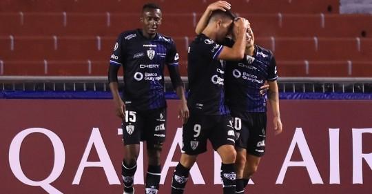 Independiente del Valle goleó 6-2 a Unión Española en la Copa Libertadores / Foto: EFE