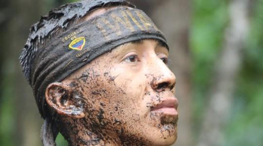 Soldados Iwia, Demonios del ejército en la Amazonía / foto cortesía de Escuela de Iwias