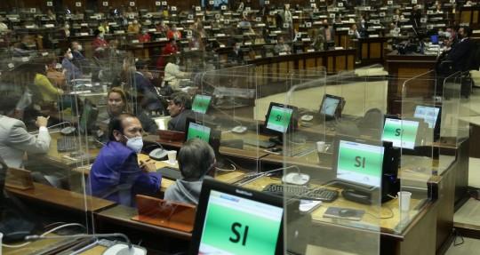 La Asamblea destituyó a Bella Jiménez / Foto: cortesía Asamblea Nacional