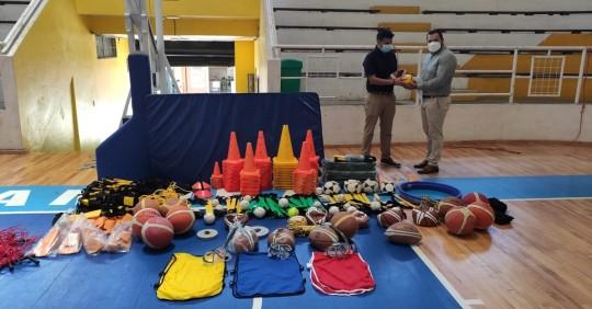 La dirigencia de este organismo deportivo, fue la encargada de presentar un proyecto a la Zonal 7. / Foto: Ministerio del Deporte