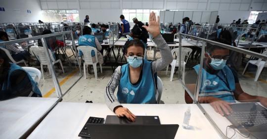 El CNE no pedirá certificado de votación en segunda vuelta / Foto EFE