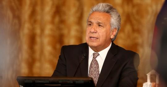 """Lenín Moreno advierte del """"peligro de tener un narcogobierno de Venezuela"""" / Foto: EFE"""