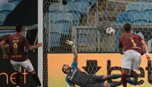 Liga ya está entre los 8 mejores de la Sudamericana / Foto: EFE