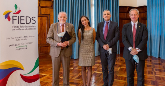 Ecuador impulsará proyectos ambientales gracias al canje de deuda con Italia / Foto: Cortesía de la Cancillería Ecuatoriana
