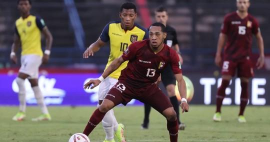 Ecuador cayó en Caracas en su peor partido de las eliminatorias / Foto: EFE