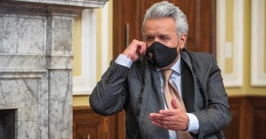 Lenín Moreno busca blindar alianza con multilaterales antes de dejar el poder  / Foto EFE