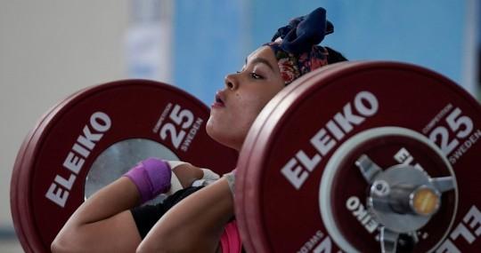 Neisi Dajomes, campeona panamericana / Foto: EFE