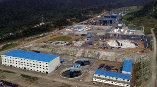 Vista panorámica de la Planta de Beneficio donde se tratará el material extraído de la mina a cielo abierto del proyecto cuprífero Mirador, ubicado en Zamora Chinchipe. Foto: El Comercio