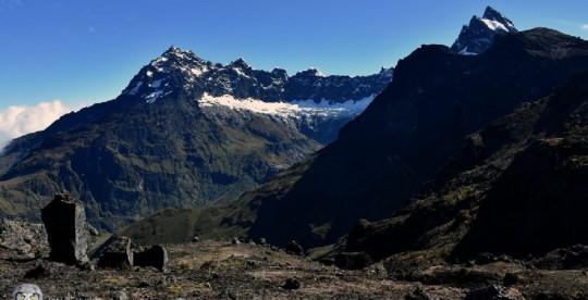 Nueva ruta turística en el volcán Altar tiene 19 atractivos / Foto: cortesía Ministerio de Ambiente