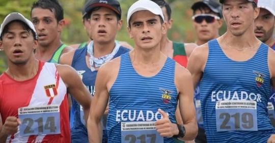 Marchista Jordy Jiménez hizo realidad el sueño de ir a los Juegos Olímpicos/ Foto: cortesía Ministerio del Deporte